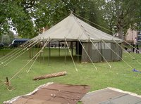 army marquee extension section needed