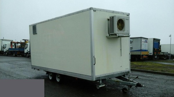 Wessex 18Ft Insulated 2 Axle Box Trailer, 3.5 Ton Ex Bt C/W Air Con
