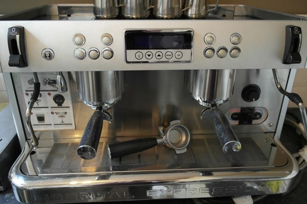 Iberital Expression 2 Group Coffee Machine + Extras!