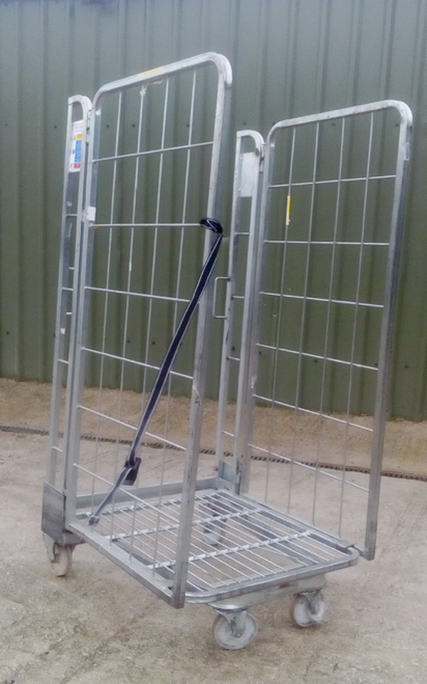 Warehouse Roll Cages