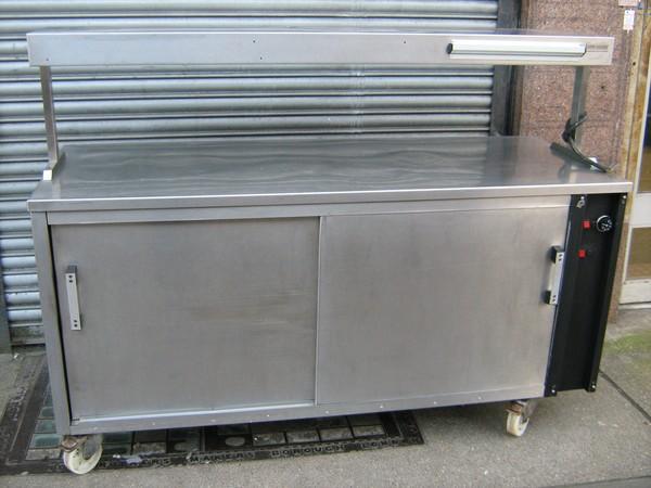 PKL Hotcupboard Plus Heated Gantry
