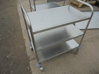 Stainless Steel Trolley	(4425)
