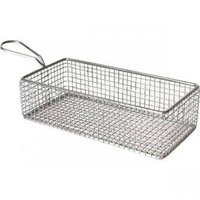 Fish fryer serving basket