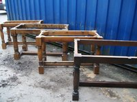 9x Refectory Table Bases (Code TB 312A)