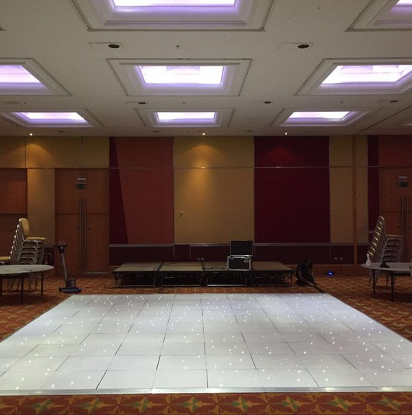 White Led Portable Floormaker Dancefloor