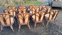 Bamboo 1920's Style Chairs