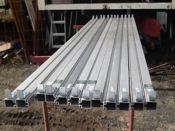 Eave rails
