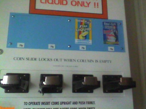 Used Vend Rite Four Column Box Dispenser for sale