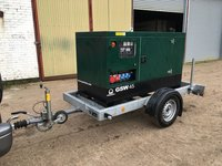 45 KVA Super Silenced Pramac Road Towable Generator