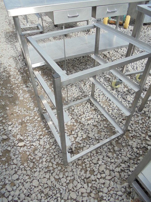Stainless Dishwasher Stand (4454)