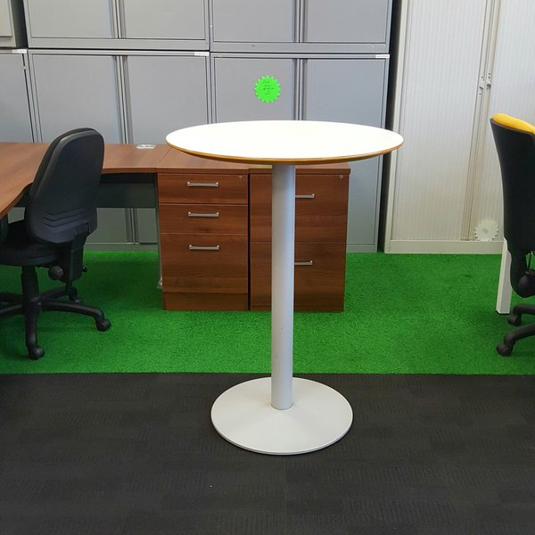 Allemuir White Poseur Table PRODUCT CODE: 4455 (CH4)