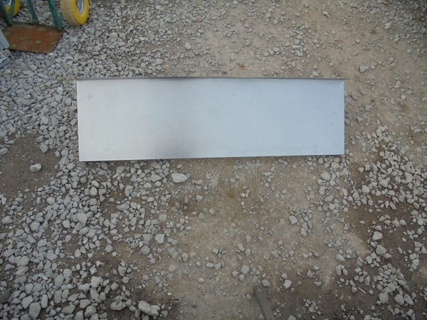 Stainless Steel Wall Shelf (4472)