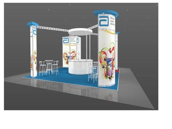Complete Modular Aluminium Exhibition Stand + Extras