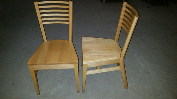 29 No. Beech chairs - Derby
