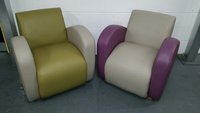 4 No. New lounge arm / tub chairs - Derby
