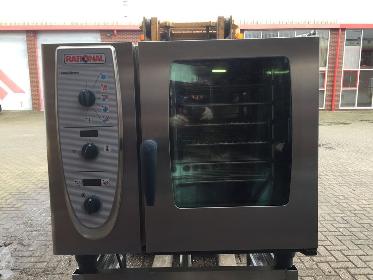 secondhand catering equipment gas combi ovens steam rational combi oven cm61g. Black Bedroom Furniture Sets. Home Design Ideas
