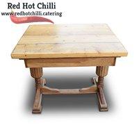 Light Wood Rustic Table (Ref: RHC2202) - Warrington, Cheshire