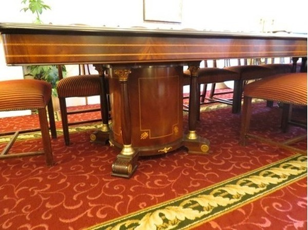 Large banqueting table