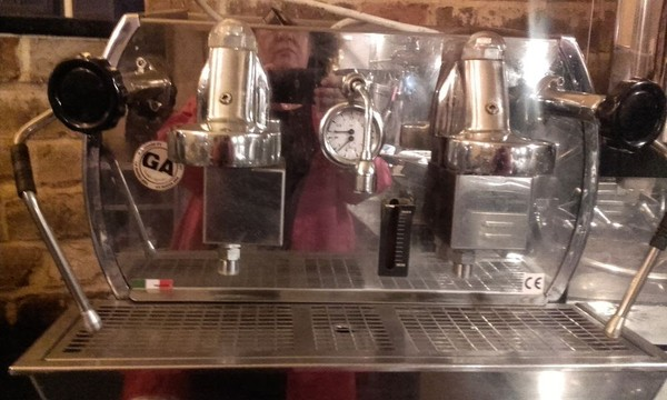 Nouva Era Altea Retro Espresso Machine
