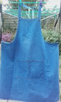 Washed Denim Bib Aprons