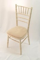 Ex Hire Limewash Chiavari Chairs with Pads