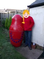 Giant Matryoshka Doll