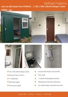 12ft x 10ft Sleeper Cabin / Shepherds Hut / Accommodation Block