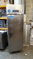 Single door upright fish fridge