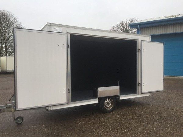 3.66m Single Axle Exhibition Trailer