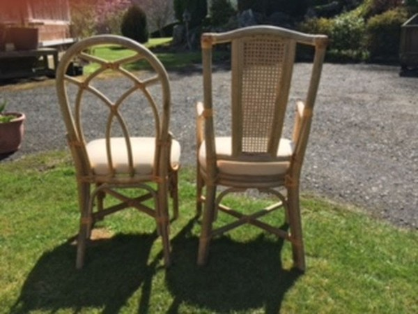 40x Wicker Chairs (in need of restoration)