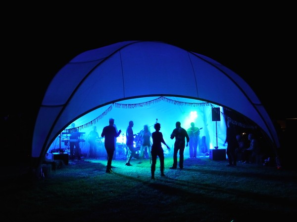 Dome Marquee 8m x 8m
