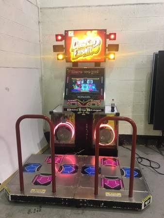 Konami Euromix 2 Dance Stage Machine