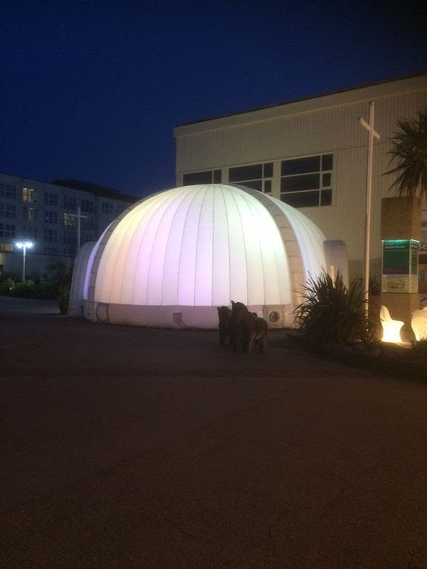 10m Airbeam Inflatable Dome (ex-hire stock)