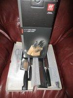 Henckels chefs knife set