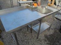 Stainless Steel Single Sink (4493)