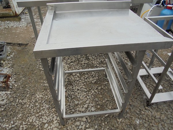 Stainless Steel Dishwasher Table (4497)