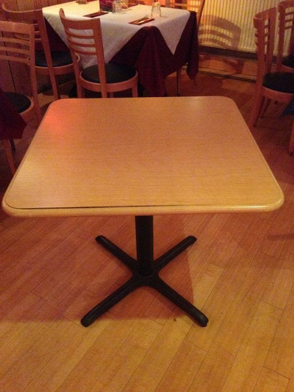Secondhand Restaurant Tables
