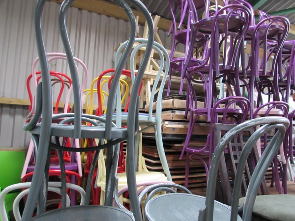 60x Bentwood Cafe / Bistro Chairs - Somerset