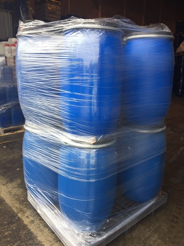 Blue Plastic Drums
