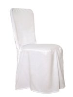 180x White Chair Covers