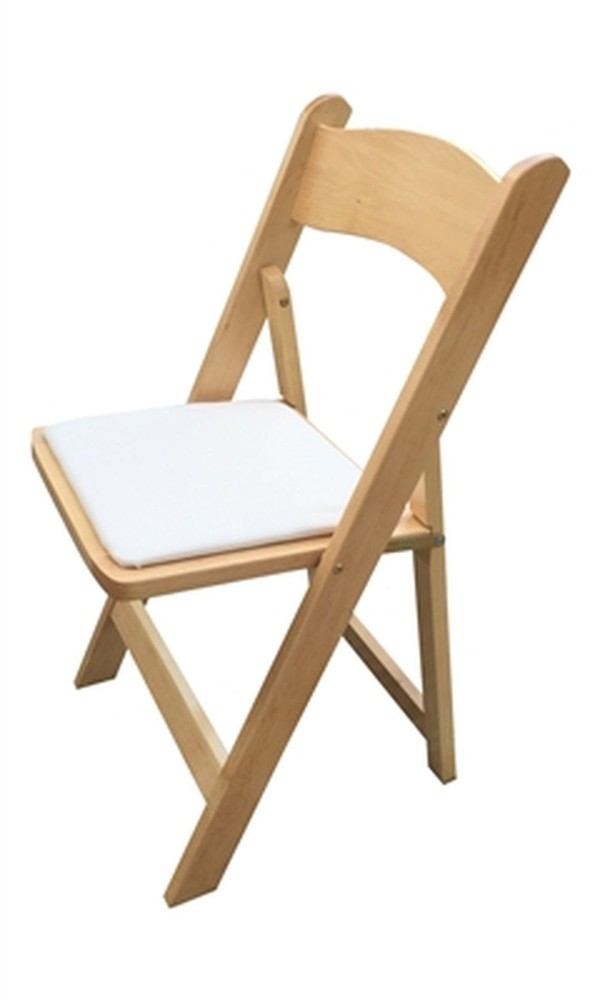 100 Folding Wooden Wedding Chairs