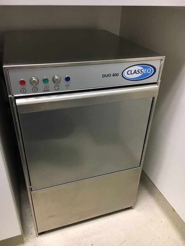 Classeq Duo 400 Commercial Dishwasher