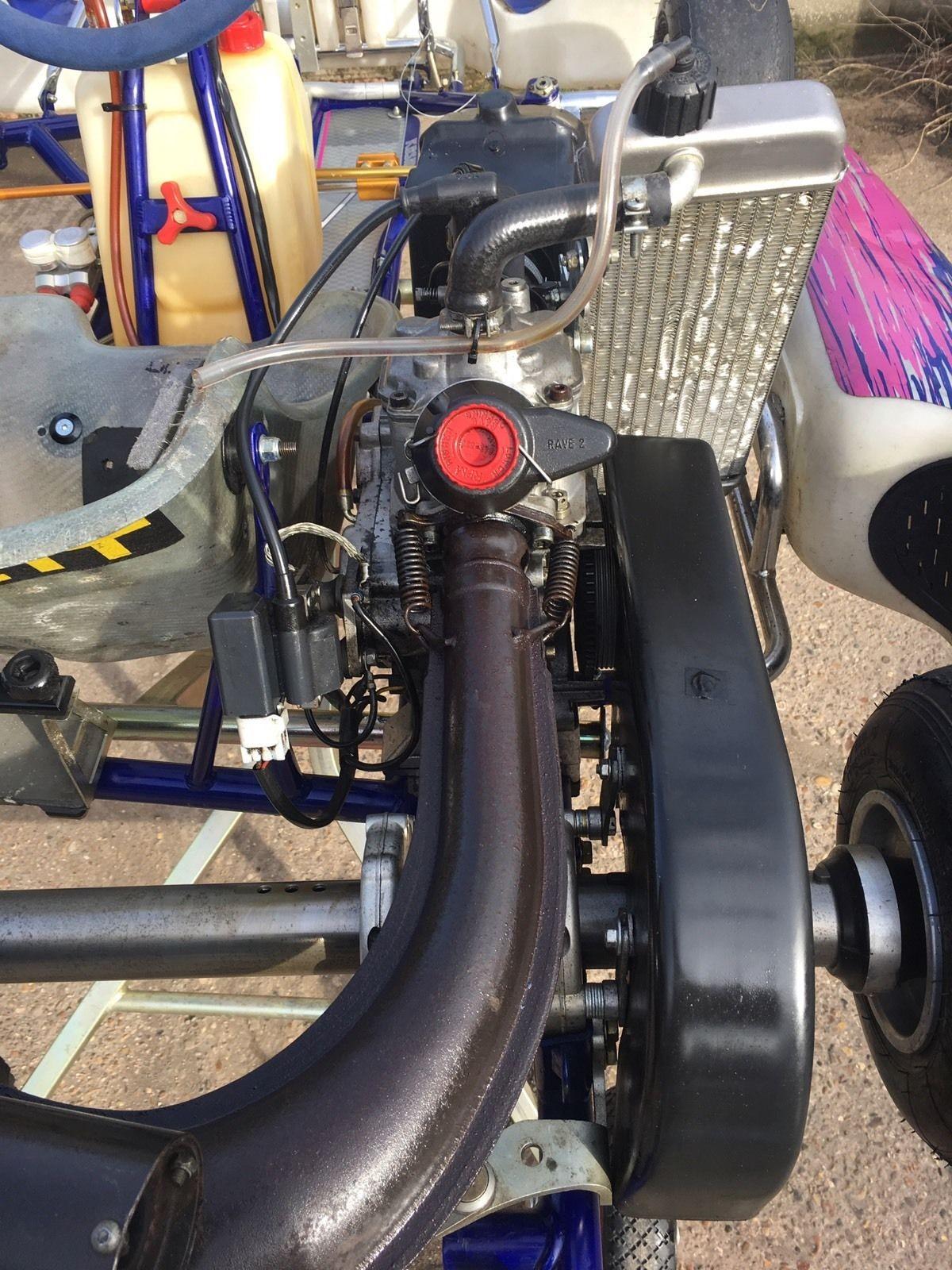 Secondhand Karting Co Uk Single Karts Otk Kosmic Rotax