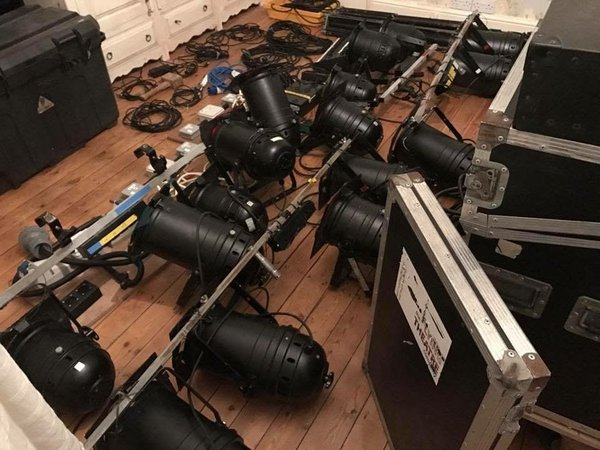 Band lighting rig for sale