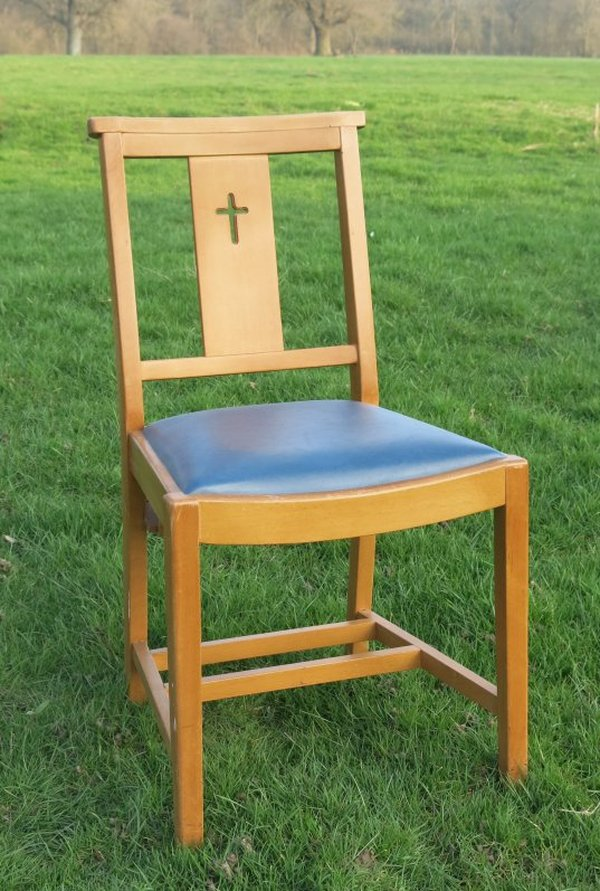 Vintage church chairs