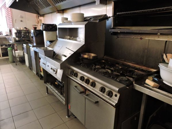 Fish and chip shop equipment