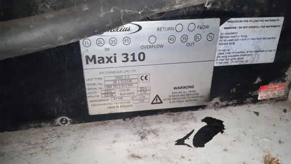 Maxi 310 beer chiller