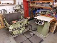Crosland Cutting and Creasing Platen Press
