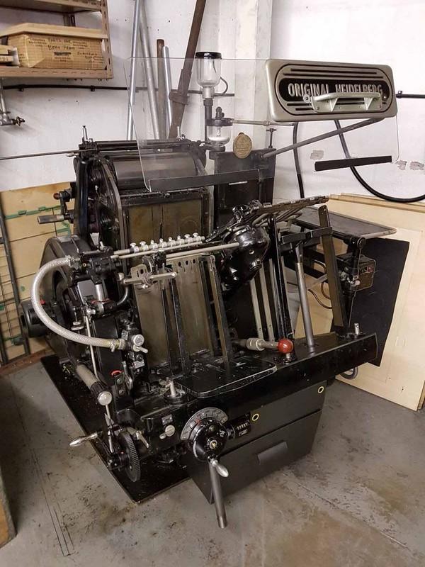 Heidelberg Windmill Printers Press