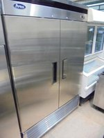 Stainless steel Double commercial fridge